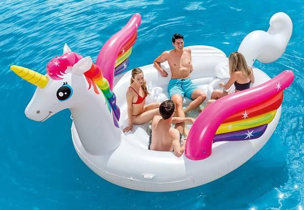 Bilde av Intex Unicorn Flytende Party