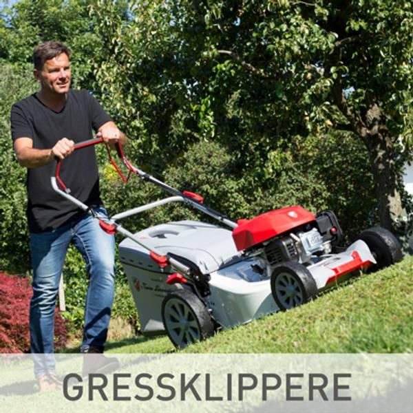Gressklipper til store og små hager billig